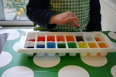 Great idea to learn colors