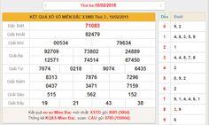 Dự đoán kết quả xổ số Miền Bắc ngày mai 11/2/2015 http://xoso.sms.vn/ket-qua/xo-so-binh-duong-xsbd.html http://xoso.wap.vn/ket-qua-xo-so-mien-trung-xsmt.html http://xoso.wap.vn/ket-qua-xo-so-bac-lieu-xsbl.html