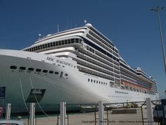 The MSC Magnifica, a beautiful ship indeed!