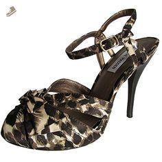 Steve Madden Womens L-Clara Stiletto Pump Sandal, Brown/Bone, US 6 - Steve madden pumps for women (*Amazon Partner-Link)