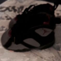 Nike Air Jordan 7 VII Retro Bordeaux Toddler Blk/Graphite 304772-034 TD Size 7c  | eBay