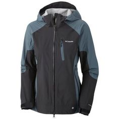 Columbia Women's The Compounder Ii Shell Jacket - Black: Designed to keep you dry from the inside out-even when you work up a sweat…