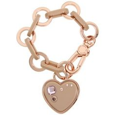 Marc by Marc Jacobs Heart charm bracelet