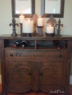 dresser to wine bar - Google Search