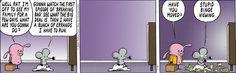 Pearls Before Swine - Comic Strip 2/18/2014 w/ Pig & Rat, Breaking Bad