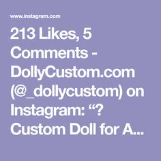 "213 Likes, 5 Comments - DollyCustom.com (@_dollycustom) on Instagram: ""♥ Custom Doll for Adoption by cocomicchi ♥ CHECK HERE ☞ http://etsy.me/2ElSk48 #blythe…"""