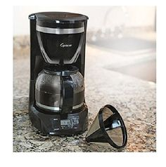 Capresso 424.01 12-Cup Drip Coffeemaker *** Find out more details by clicking the image : Coffee Maker