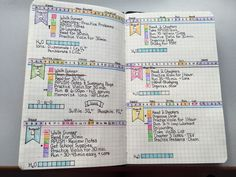 Bullet journal 2k15: one week in. I'm not sure about how I feel about this set up yet, but it looks cute.
