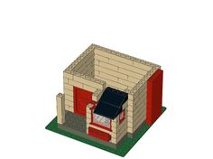 Step12/28from Untitled.ldr-little-house-steep-roof-LEGO® building instruction
