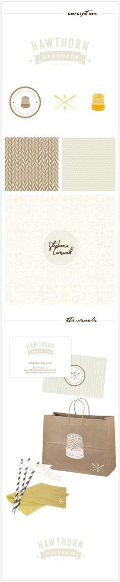 Hawthorn Handmade || Flourish Studios  Tag straws for identifying drinks - Party!