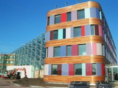 Federal Environmental Agency in Dessau /Sauerbruch Hutton Architects