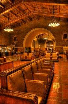 HDR Union Station, Los Angeles California