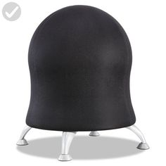 Safco Products 4750BL Zenergy Ball Chair, Black - Refine your workspace (*Amazon Partner-Link)