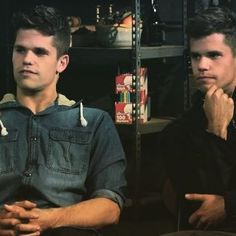 Teen Wolf ... Charlie and Max Carver as Ethan and Aiden
