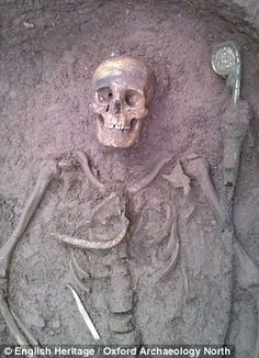 Extraordinary discovery of 12th century abbot's grave: 2012 technology could unmask his identity - and that of a ghost that roams the site.