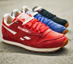 Reebok Classic Leather Vintage Suede Pack - available