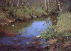Rodger Dale Brown: Reflections • 30x40, oil