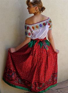 583 Best China Poblana Images In 2019 Mexican Dresses