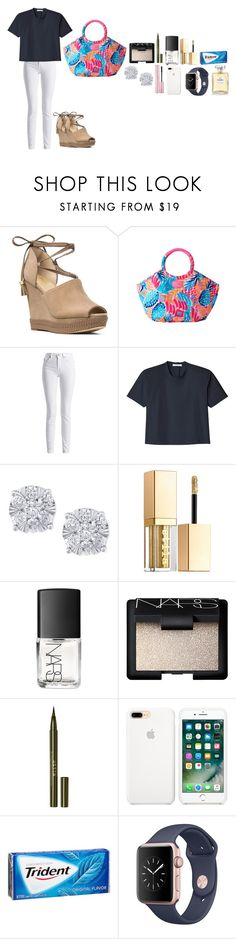"""Cuteeeee"" by tcolasante on Polyvore featuring MICHAEL Michael Kors, Lilly Pulitzer, Barbour International, TIBI, Effy Jewelry, Stila, NARS Cosmetics and Chanel"