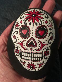 Sugar Skull Rock Art