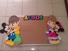 Decorado para aulas infantiles (mural para avisos)