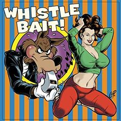 Whistle Bait: 25 Rockabilly Rave-Ups. By: Whistle Rockabilly. Tracks: 1 - Guitar Rock and Roll, 1 - Snatch It and Grab It, 1 - Romp Stompin' Boogie. Dimensions: width: height: 37 hundredths-inches. Samurai Art, Baboon, Lowbrow Art, Cd Cover, Pin Up Art, Erotic Art, Female Characters, Cartoon Characters, Female Art