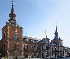Arquitectura herreriana - Palacio de Santa Cruz, Madrid