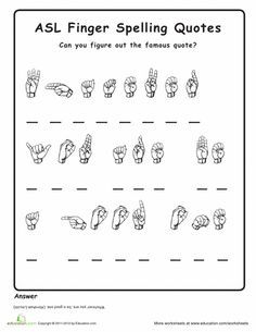 ASL: Introduction to American Sign Language 10 lesson course kit