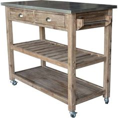 industrial wood metal outdoor cart - Google Search