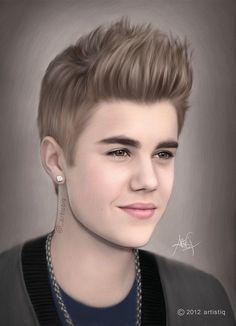 Justin Bieber by artistiq-me on DeviantArt