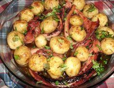 Receita de Polvo à Lagareiro - http://www.receitasja.com/receita-de-polvo-a-lagareiro/