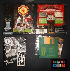 JUEGO ATARI ST/STE  MANCHESTER UNITED FOOTBALL CLUB, KRISALIS, NO TESTED