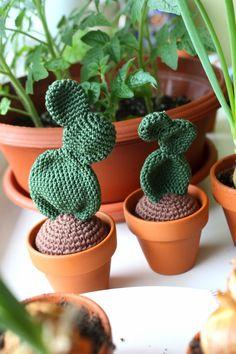 Amigurumi creations by Laura: Crochet Cacti - Amigurumi cacti. [no instructions, just photos]
