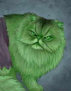 Vos chats jouent les super-héros dans ces fantastiques illustrations