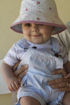 Saídos da Concha - Modelo para chapéu reversível!