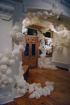 a paper installation by Rina Grosman and Vivien Cheng
