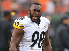 Pittsburgh Steelers linebacker Vince Williams told fans mad enough to burn their Steelers gear not to bother coming back. Steelers Gear, Here We Go Steelers, Steelers Football, Pittsburgh Steelers, Vince Williams, William Tell, Steeler Nation, Football Season, Nfl