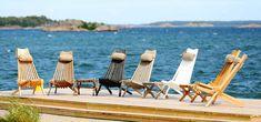 EcoFurn Nordic Design From Nature Nordic Design, Scandinavian Design, Outdoor Chairs, Outdoor Furniture, Outdoor Decor, Plein Air, Sun Lounger, Relax, Wood