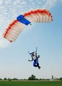 Sky Diving-I'll be doing this for my birthday this year!! Whooo hooo!! :)