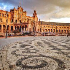 Plaza de España: Sevilla, Spain