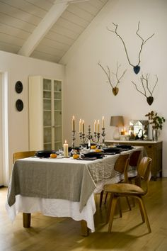 pinterest diy modern dining tablecloth | Found on leberpr.com