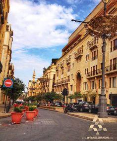 Downtown #Beirut  وسط #بيروت By Nicole Elia  #WeAreLebanon #Lebanon