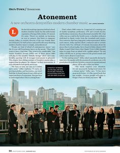 I've never been a fan of text overtop a visual, but this article layout would be the exception. The designer made sure to use a photo with a lot of negative space (the sky) so that he may incorporate text on it and not have the page look busy. Although the text and the picture are combined, you can easily see the separation between the 2. I'd drop that black call out box though: it horribly distracts from the meat of the article.