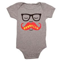 brooklyn baby...complete with ironic mustache