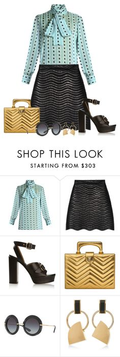 """Untitled #2951"" by elia72 ❤ liked on Polyvore featuring Gucci, Chloé, Dolce&Gabbana and Marni"