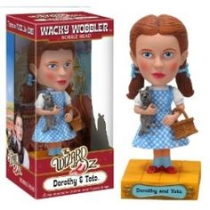 Funko Wizard of Oz: Dorothy Wacky Wobbler Dorothy Wizard Of Oz, Dorothy Gale, Wizard Oz, Wizard Of Oz Characters, Iconic Characters, Little Dogs, My Little Pony, Wacky Wobbler, Living Dead Dolls