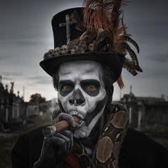 Once again upvote Baron Samedi for protection from Madame Zeroni. - Imgur