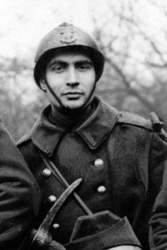 Sgt Francois Mitterand who later became the president of France