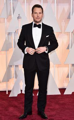 2015 Oscars: Red Carpet Arrivals Chris Pratt, 2015 Academy Awards Oscars
