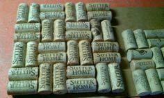 Home made cork board